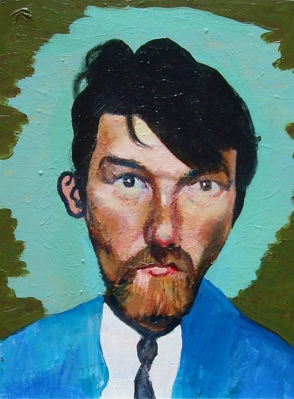 Self-Portrait as Van Gogh 46x52cm (2017)