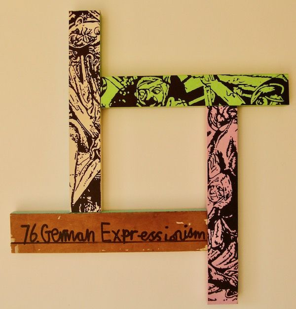 German Expressionism 77x77cm (2020)