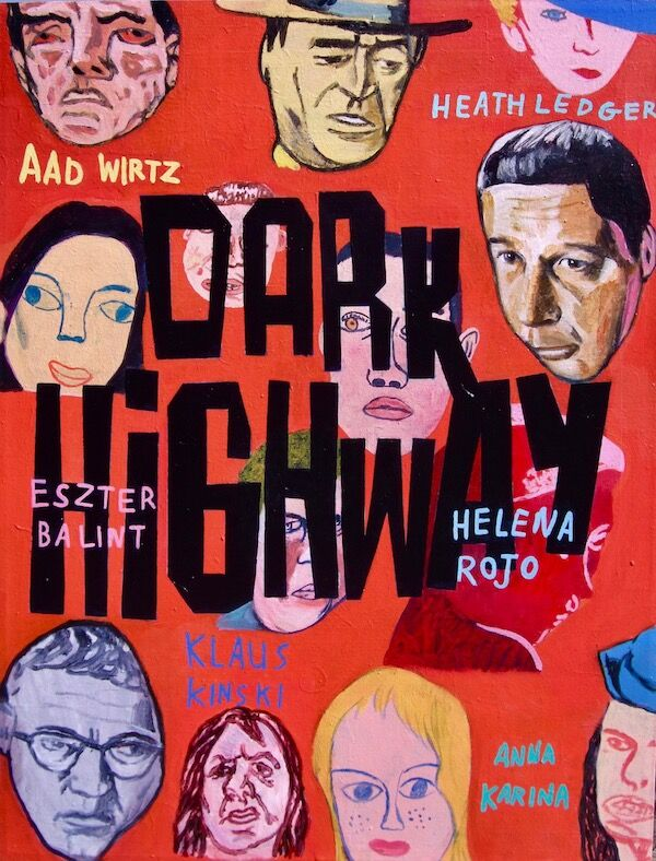 Dark Highway 75x100cm (2020)