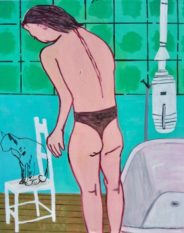 Venus in the Bathroom 80x100cm (2020)