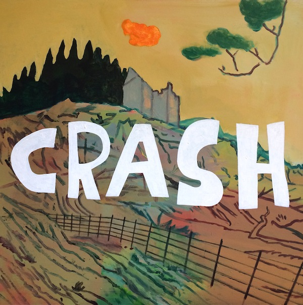 Crash (Disaster Series) 80x80cm (2018)