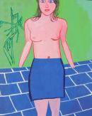 Femme au Miroir 100x125cm (2013)