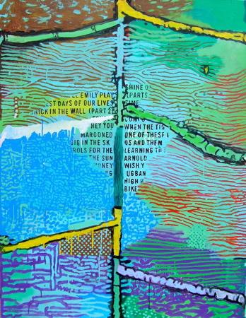 Fountain 90x117cm (2009)
