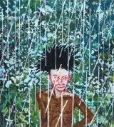 Henderson the Rain King 4 (with headdress)  75x75cm  (2017)