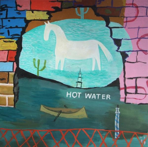 Hot Water 93x93cm (2017)