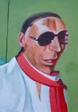 Jeffrey Sacino  26x38cm  (2014)