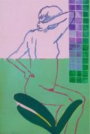 Woman in a Shower 62x93cm (2010)