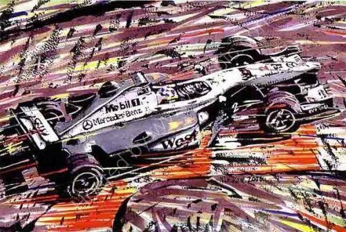 Coulthard McClaren 2000