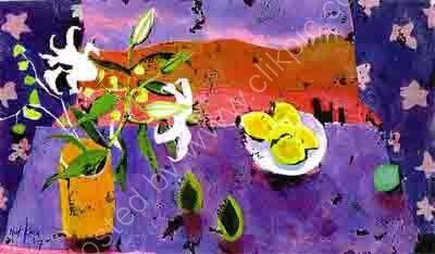 Lilies, Lemons & Blue Lime