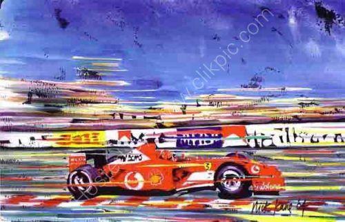 Schumi @Monaco 2 (29cm x 21cm)