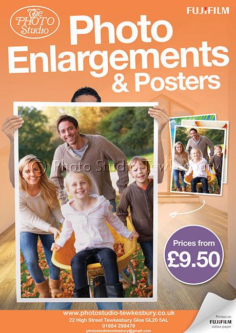 Fujifilm Enlargements Poster (A2) v2