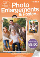 Fujifilm Enlargements Poster (A2) v2