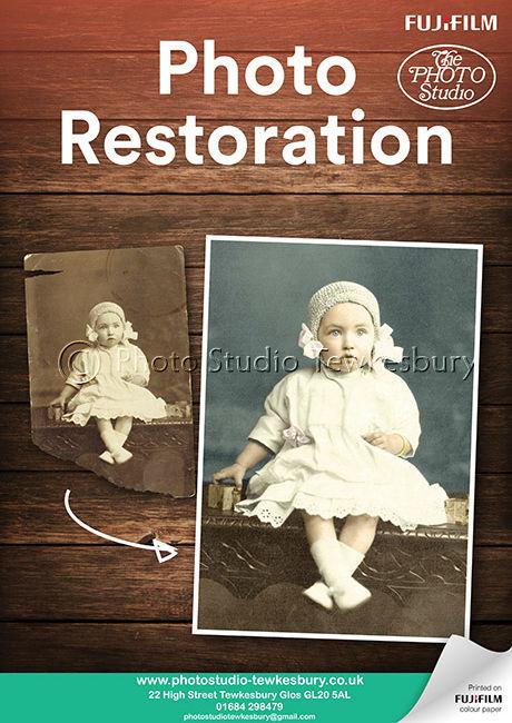 Fujifilm Photo Restoration Poster (A2)v2