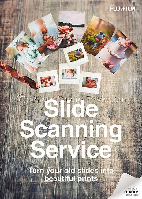 Fujifilm Slide Scanning Poster (A2)