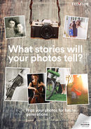 Fujifilm What Stories Will Your Photos Tell Poster (A2)