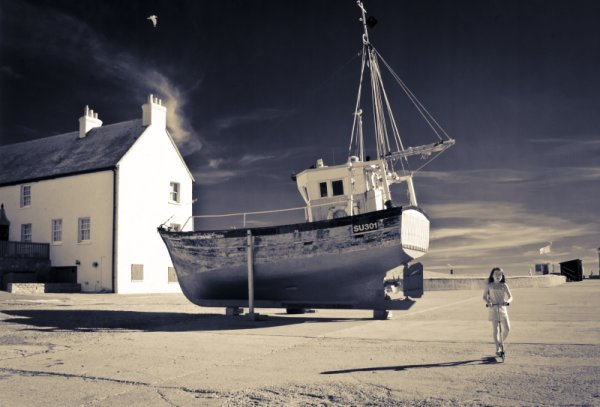 Fishing Boat on West Bay