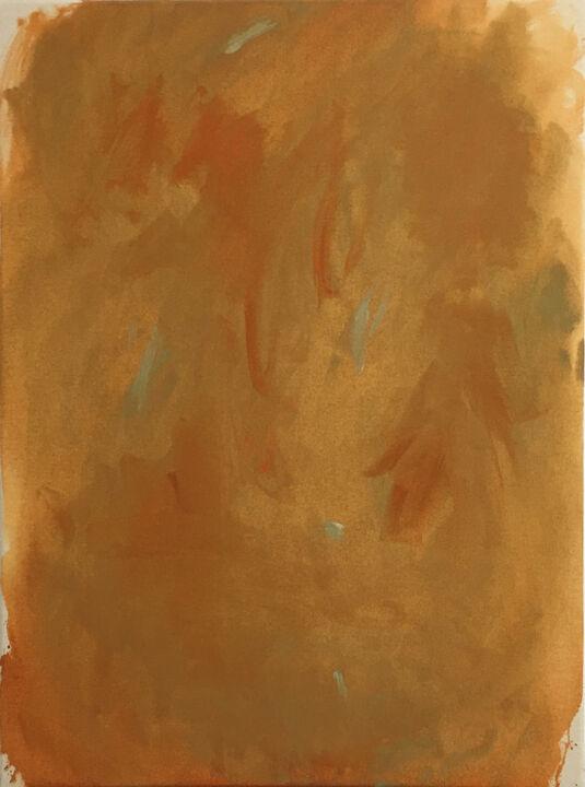 Baby lemons, acrylic on unprimed canvas, 80 x 60cm, 2021