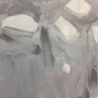 sea level, acrylic on canvas, 59.5x50cm