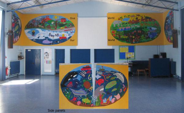 Marham Junior School - murals