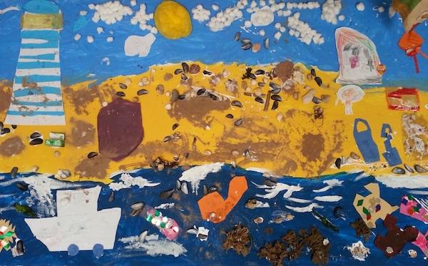 Nursery Seaside mural