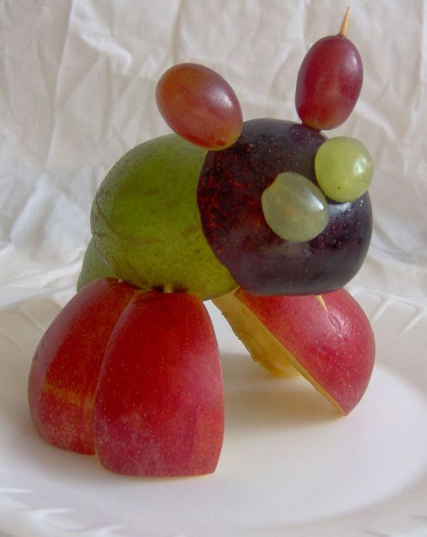 Edible sculpture - West Norfolk Food Fortnight