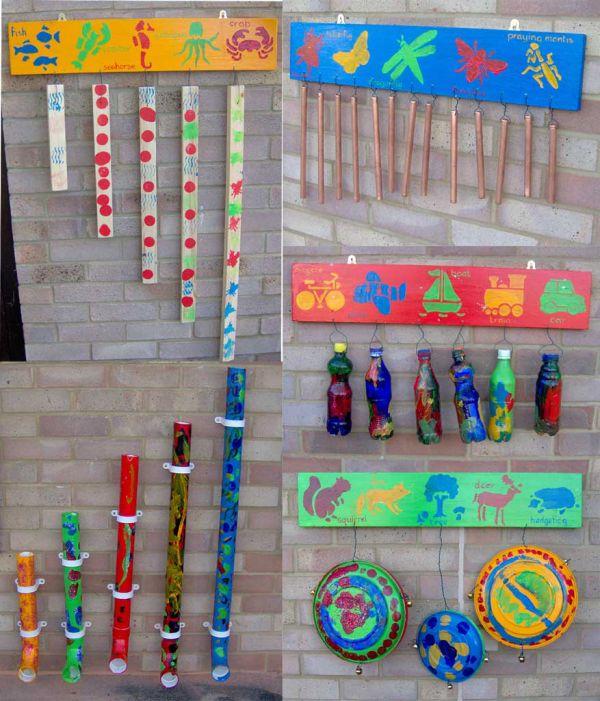 Hunstanton Children's Centre - musical instruments
