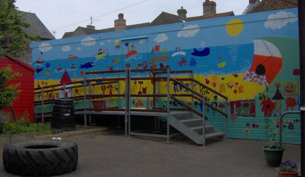 Hunstanton Infant School - mural