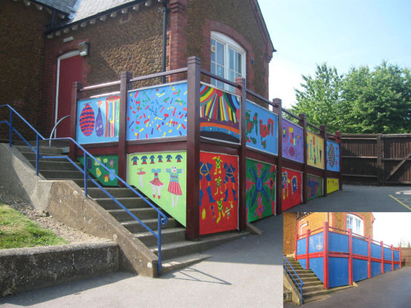 Sedgeford Primary School - mural