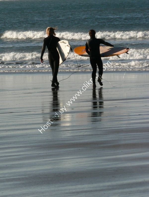 New year day surf