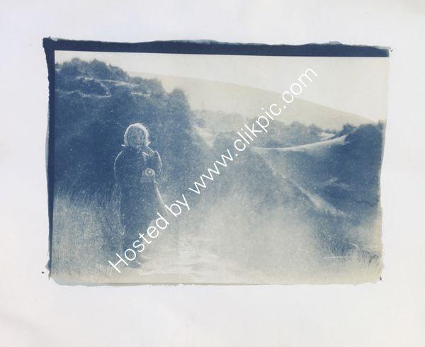 girl in a sandstorm