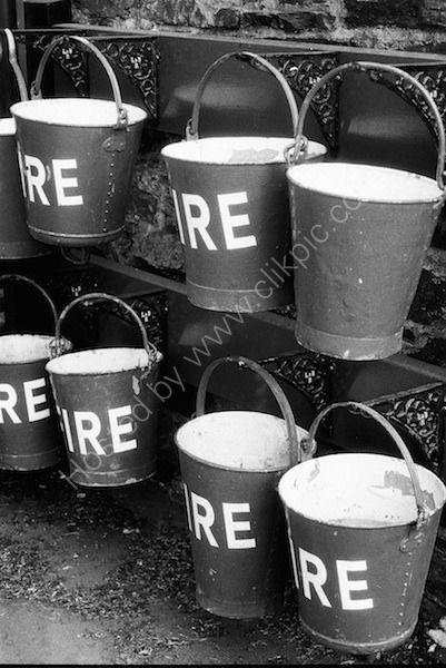 buckets at the ready