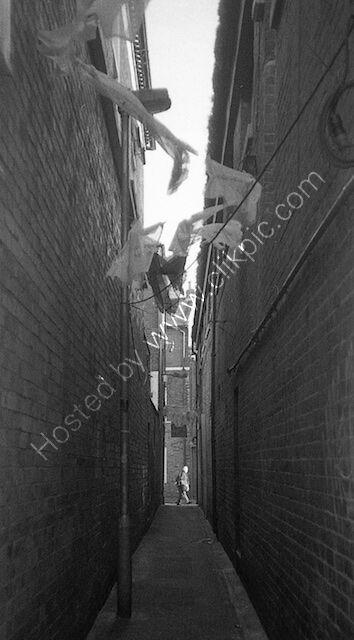back streets of Worcester