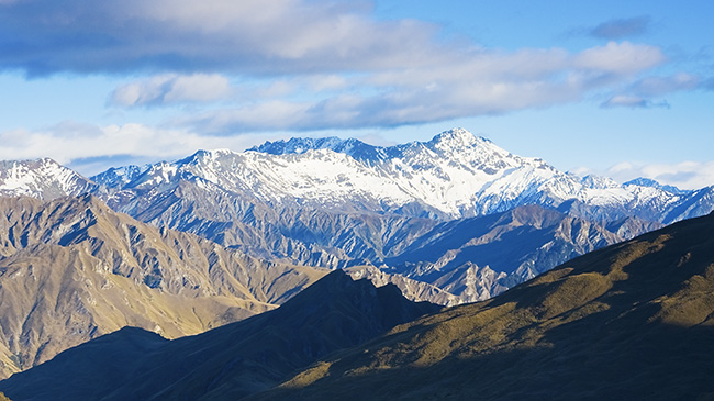 View from Skippers Canyon, New Zealand
