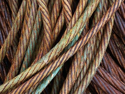 Dingle cables at harbour