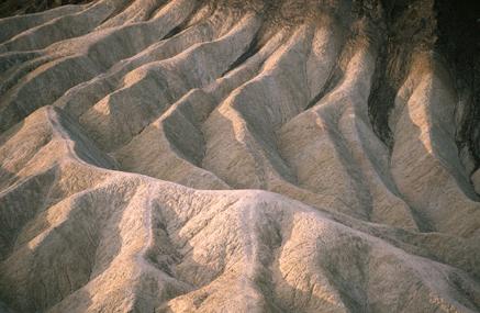 Mudstones Death Valley