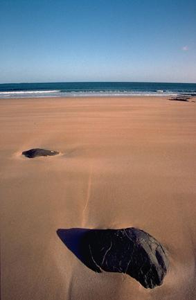 Northumbrian beach