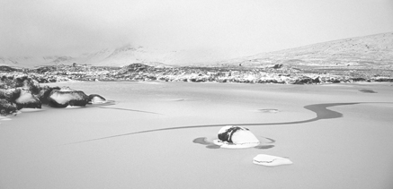 Rannoch Moor ice patterns