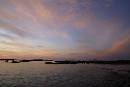 Renvyle sunset