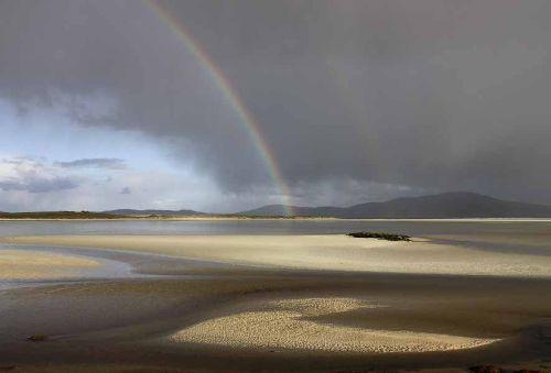 Seilebost Bay Harris early storm
