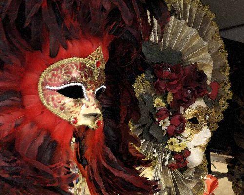 Venice mask 3
