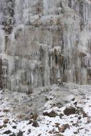 Wall of ice near Knockan