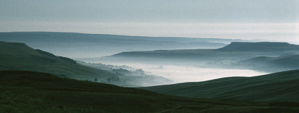 Wharfedale mist over Semerwater