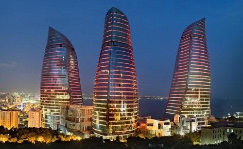Baku Towers of Flames