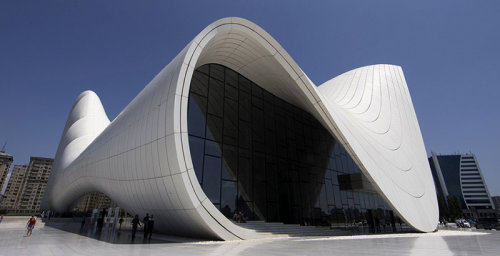 Baku by Zaha Hadid