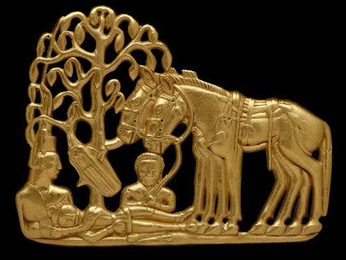 British Museum Scythians exhibit