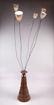 Ceramic lamp - Nadav Drukker