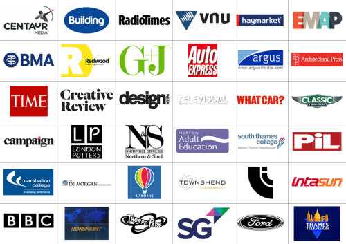 Commercial clients logo panel