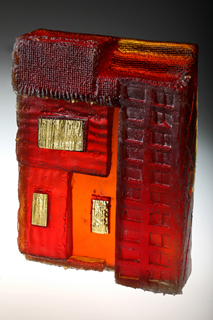 Glass and gold 4 - Deborah Timperley