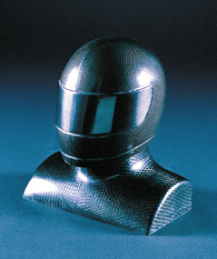 Carbon fibre helmet - Mark Gibbs