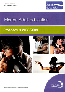 MAE prospectus 1 - Merton Adult Education